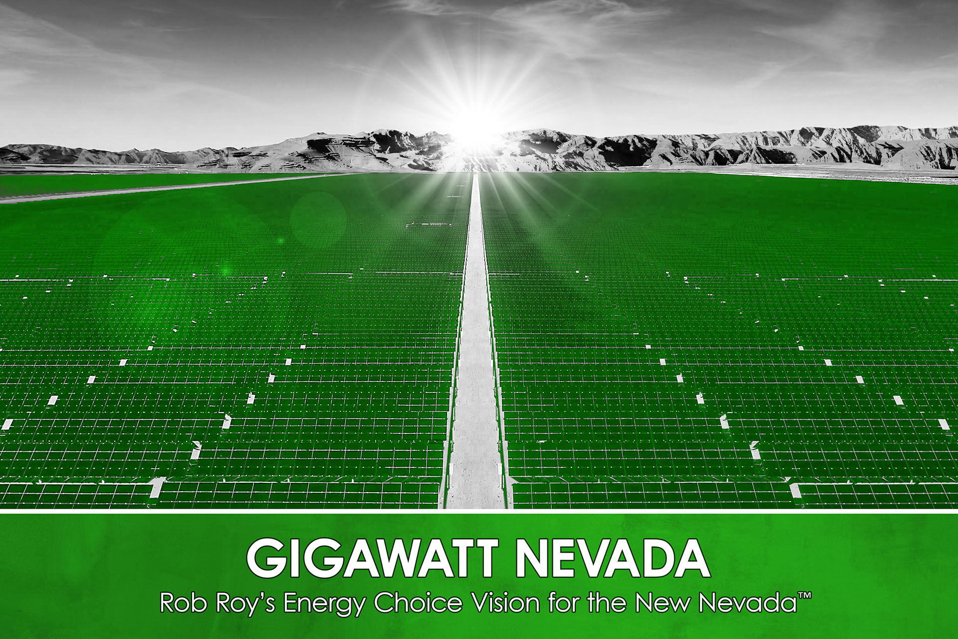 Switch Announces Rob Roy's Gigawatt Nevada, the Largest Solar Project in the United States