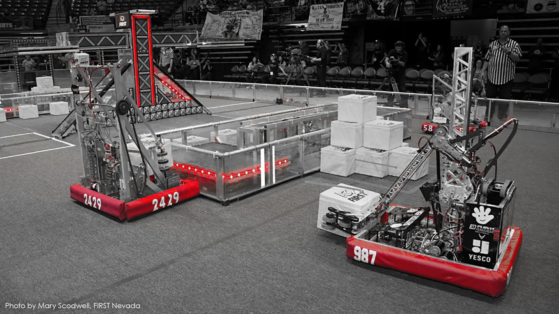 Switch Inspires Future Technology Leaders at 2018 Las Vegas Regional FIRST® Robotics Competition