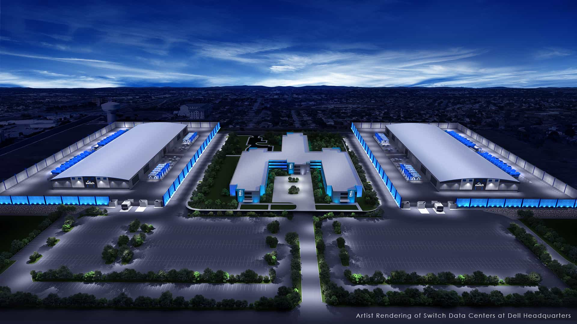 Switch Announces Fifth Prime Expansion with Development of Exascale Data Center Campus in Texas